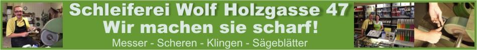 Banner Schneidwaren Wolf