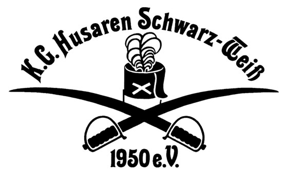 Logo Husaren SchwarzWeiß